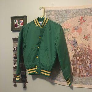 Vintage Sporty Bomber Jacket